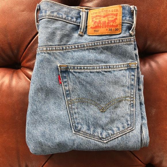 Levi's Other - Levi's 550 38 x 30 Blue Jeans